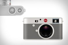 Leica M RED Camera | This one-of-a-kind camera sports a machined aluminum aesthetic designed by Apple's unparalleled Senior Vice President of design Jony Ive, and is based on the Leica Digital Rangefinder Camera.