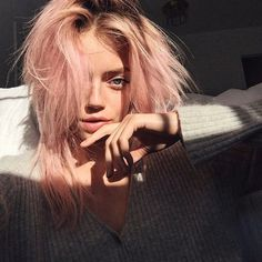 Faded Hair Color, Wash Out Hair Color, Summer Hairstyles, Pretty Hairstyles, Short Hairstyles, Wedding Hairstyles, Hair Inspo, Hair Inspiration, Afro