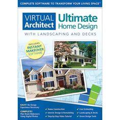 Nova Virtual Architect Ultimate Home Design Windows Digital Best Home Design Software 3d Home Design Software Home Design Software