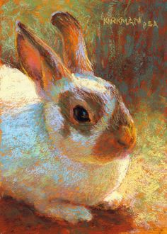 "Rita Kirkman, ""Bea"" (pastel, 7x5"")"