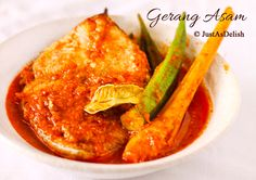 Gerang Asam (Spicy & Sour Fish Curry): Malacca Nyonya Cuisine | Healthy Malaysian Food Blog & Food Recipes