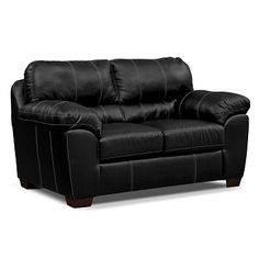 Cobra Leather Dual Reclining Loveseat Value City