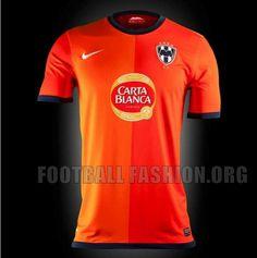 CF Monterrey Nike 2012 FIFA Club World Cup Away Jersey