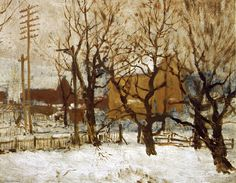 'Arrochar Park, Staten Island', 1903 by Robert Julian Onderdonk (1882-1922, United States)