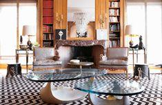piso de París, diseñador de interiores Chahan Minassian