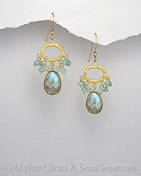 Vines of Jewels - Gold Plated Labradorite Dangle Earrings, $58.00 (http://www.vinesofjewels.com/products/gold-plated-labradorite-dangle-earrings.html/)