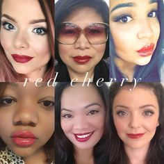 "Red cherry #lipsense lipsense facebook page - "" Forever Beauty by Elvia"""