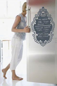 rococo chalkboard wallcandy