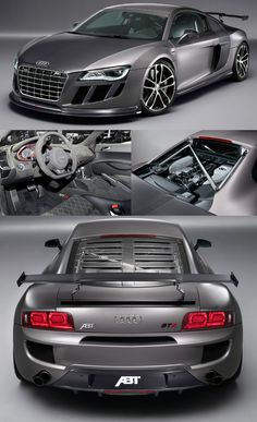 """New #Audi #ABT #R8GTR has turned out to be a #roadworthy """"#dreamcar"""" with 525 bhp   http://www.audienginesandgearboxes.co.uk/engines"""