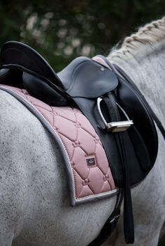 Pink Pearl Dressage Saddle Pad