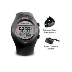 """(CLICK IMAGE TWICE FOR DETAILS AND PRICING) Garmin Forerunner 410 Watch with HRM and SC-R Forerunner 410 Premium HRM. """"Garmin Forerunner 410, Cyclists Pro Plus Refurbished Includes One Year Warranty, The Garmin Forerunner 410w_ HRM, World Wide is the easiest way to track your training. There s virtual.... See More Heart Rate Monitors at http://www.ourgreatshop.com/Heart-Rate-Monitors-C394.aspx"""