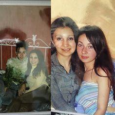 Наши 17 и 22 Смешные и маленькие смотрю и думаю... А что изменилось?!))) @diana_anastasiadi  #детство #сестрички #родные #чтобынеслучилось