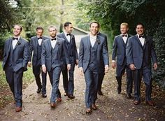 If you know like I know, you don't wanna step to this.  It's a Groomsmen walk in the woods funked out with a gangsta twist. Dark gray suits mean business.  This one's gonna work out.  This Groom is never gonna leave his posse. @myweddingdotcom  #Groom #Wedding #Forever (scheduled via http://www.tailwindapp.com?utm_source=pinterest&utm_medium=twpin&utm_content=post17812310&utm_campaign=scheduler_attribution)