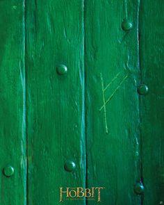 the mark on Bilbo's door