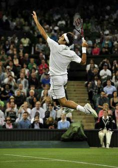 Roger Federer - tennis' Mr Magic.