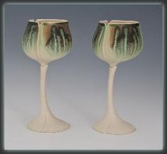 Balloon Goblets by Newman Ceramic Works. American Made. See the designer's work at the 2015 American Made Show, Washington DC. January 16-19, 2015. americanmadeshow.com #goblets, #ceramic, #americanmade