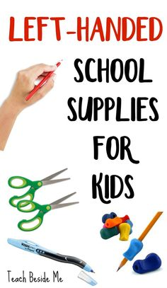 Left-Handed School Supplies for Kids