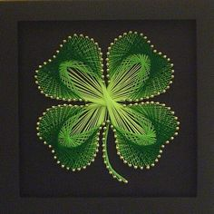 As Irish as... don't know if I would have the patience/skill to do this