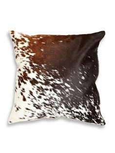 Torino Cowhide Pillow by Natural at Gilt