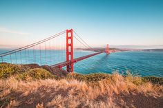 Famous Golden Gate Bridge from Battery Spencer Vista Point Free Stock Photo
