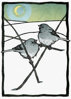 moon juncos by nick wroblewski