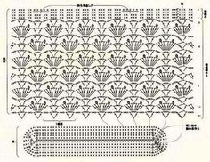 Crochet Bag Chart : ... bags - purses on Pinterest Market bag, Crochet bags and Free charts