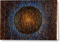 Soul Greeting Card by Michael Lang
