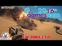 Repetición del evento Battlefield 1 EL DESIERTO DEL SINAÍ Gamescom 2016