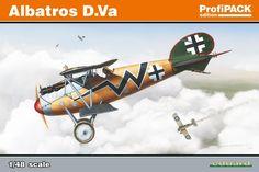 1:48 Albatros D.Va - Military scale model kits - Modelling | Hobbyland