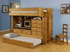 woodshop ideas | The Original Bunk Bed Plans Will Make Woodworking A Breeze