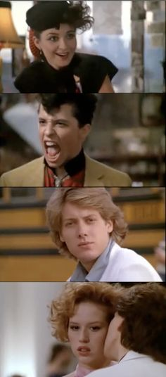 Pretty in Pink, 1986...ok so thinking back..even though James Spader was a total jerk here..I began my James Spader crush. lol