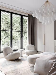 Park Avenue on Behance Apartment Interior Design, Best Interior Design, Interior Exterior, Interior Design Inspiration, Adobe Photoshop, Lightroom, Cloud Bedroom, Master Bedroom, Autocad
