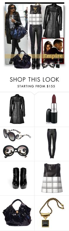 """Empire Hottest Style: Taraji P. Henson"" by googie-googie ❤ liked on Polyvore featuring Versace, Prada, Isabel Marant, Alexander McQueen, Drome, Louis Vuitton and EmpireInsider"
