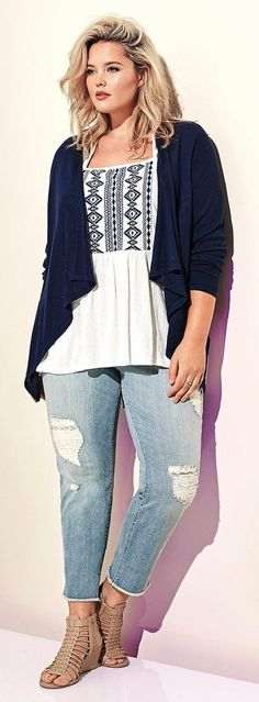 Summer casual work outfits ideas for plus size 55 - Fashion Best