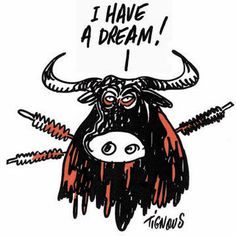 Charlie Hebdo's 10 Best Animal Rights Cartoons  http://www.peta.org/blog/charlie-hebdos-10-best-animal-rights-cartoons/