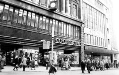 Co-op,High Street,Birmingham.The Co-op used to dominate High Street with stores on both sides.