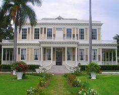 The historic Devon House in Kingston, Jamaica. And we had Devon Stout ice cream, it was delicious.