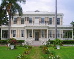 The historic Devon House in Kingston, Jamaica