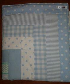 colcha de patchwork para coche de bebé tejidos de gran calidad,trasera acolchada patchwork