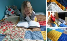 Never sewn a quilt before?  Always wondered how to?  THIS is your link... a quiet weekend project perhaps.. hhmmmm