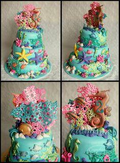 mother's day cake pop ideas | Ocean cake - Cake Decorating Community - Cakes We Bake