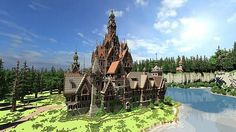 Warhammer : The Burgomeister's Mansion Minecraft Project