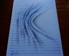 You would be Awestruck on seeing these 3D Notebook Drawings that