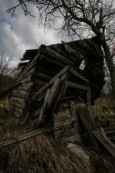 Abandoned cabin in the suburbs of Rijeka, Croatia.