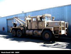 mack - military tow