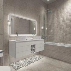 Home Room Design, Bathroom Interior Design, Interior Design Living Room, House Design, Downstairs Bathroom, Small Bathroom, Modern Powder Rooms, Design Case, House Rooms
