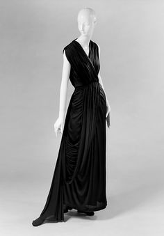 Evening Dress Madame Grès, 1937-1939 The Metropolitan Museum of.Art