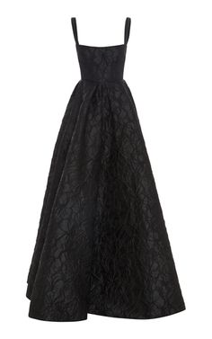 Alex Perry Jane Floral Brocade Portrait Gown In Black Dress Outfits, Fashion Dresses, Dress Up, Pretty Dresses, Beautiful Dresses, Evening Dresses, Prom Dresses, 1950s Dresses, Vintage Dresses
