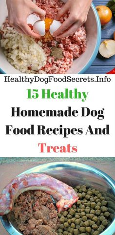 15 Healthy Homemade Dog Food Recipes And Treats