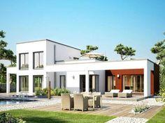 Maximale Modularität und Individualität. Der Concept-M Bungalow bietet unendliche Vielfalt und Flexibilität für die Realisierung individueller Wohnwünsche. Die große Anzahl unterschiedlicher Architektur-Accessoires und Grundrisskonzepte ermöglicht die Kreation vollkommen individueller Hausentwürfe. Vom klassischen Walmdach-Bungalow über den repräsentativen mediterranen Bungalow bis zum modernen 1 oder 2-geschossigen Designer-Bungalow mit Flachdach ist alles möglich. Individueller geht nicht!